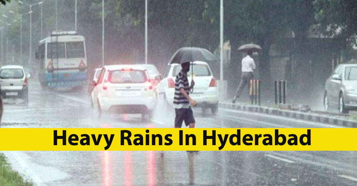 Weather forecast by IMD; heavy rains in Hyderabad - Avaaz24