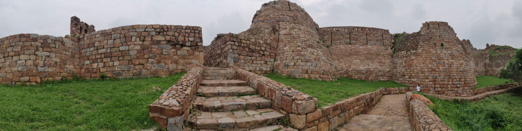 Southern Gate - Panoramic view