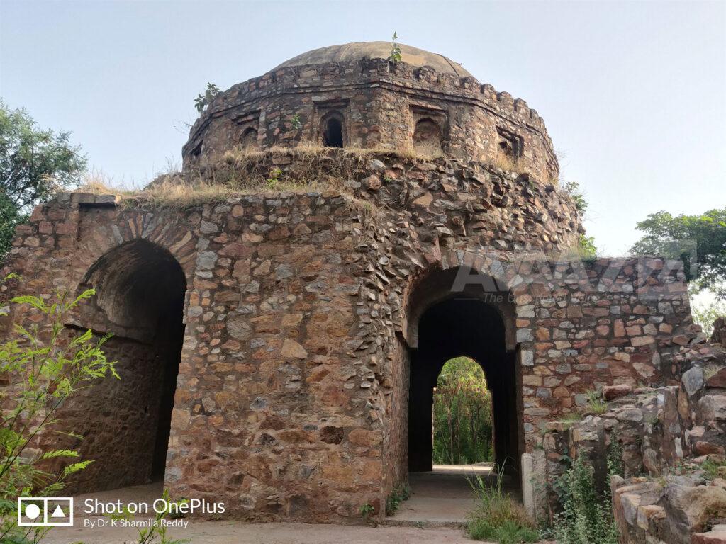 Bijay Mandal- the watch tower of Muhammad bin Tughlaq