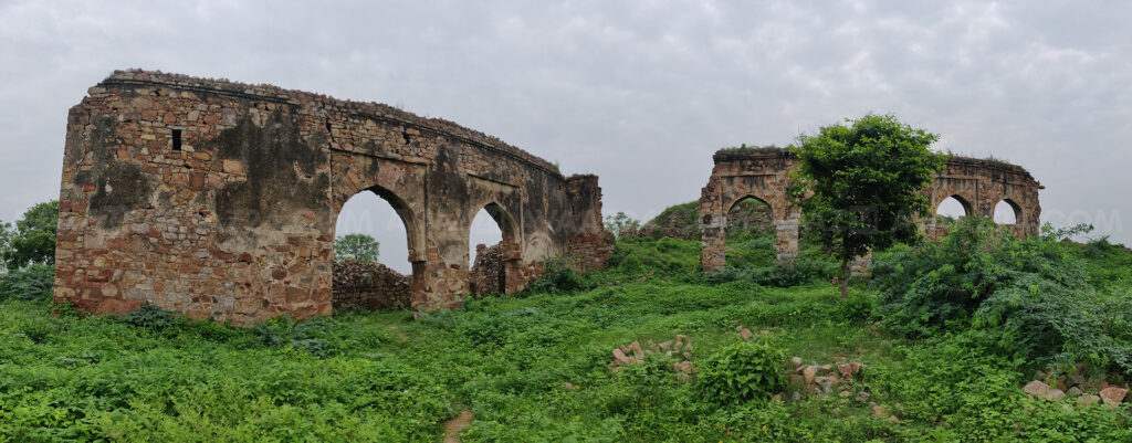 The Ruins of Tughlaqabad Fort