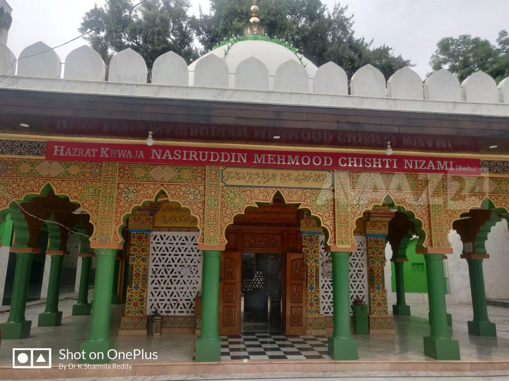 Hazrat Chirag Delhi-Dargah (Sufi shrine) of Saint Nasiruddin Mahmud Chirag-Dehlavi
