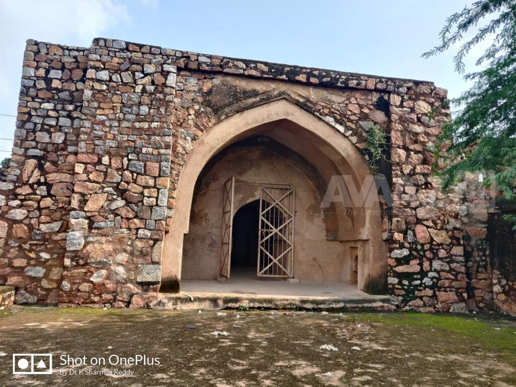 Tower with a Pathan style gateway