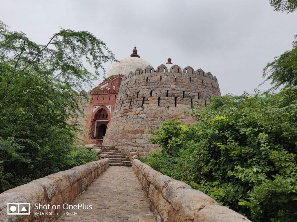 The Darul Aman - Tomb of Ghiyasuddin Tughlaq.