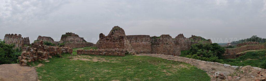 Tughlaqabad Fort - Interior View