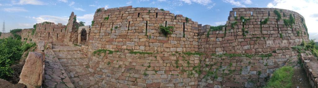 Adilabad Fort or Muhammadabad Fort - Panoramic view