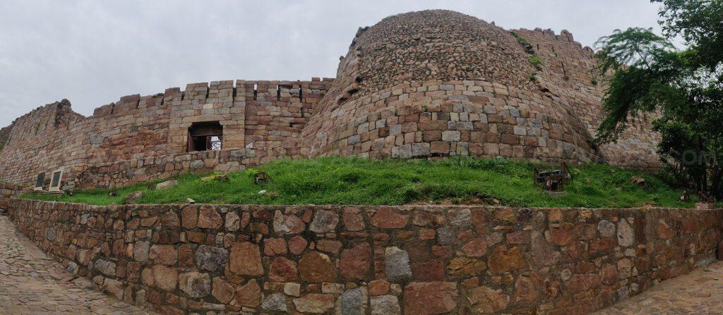 Tughlaqabad Fort- Exterior View