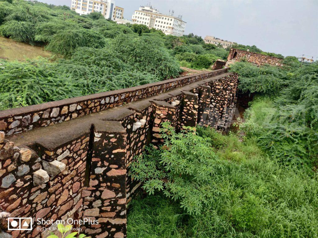 Satpula- as a Wall of defence