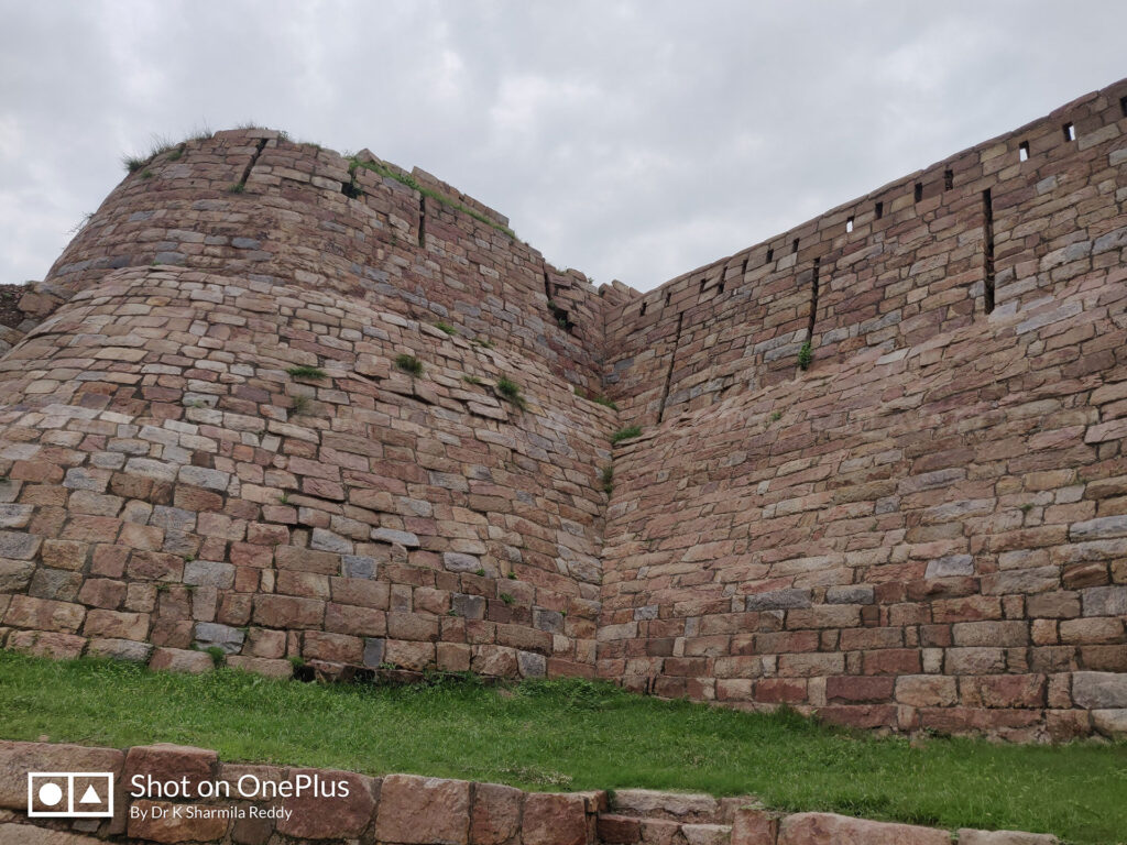Wall of the Fort with ovlets for archers