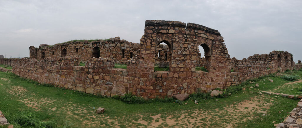 The ruins of the fortress