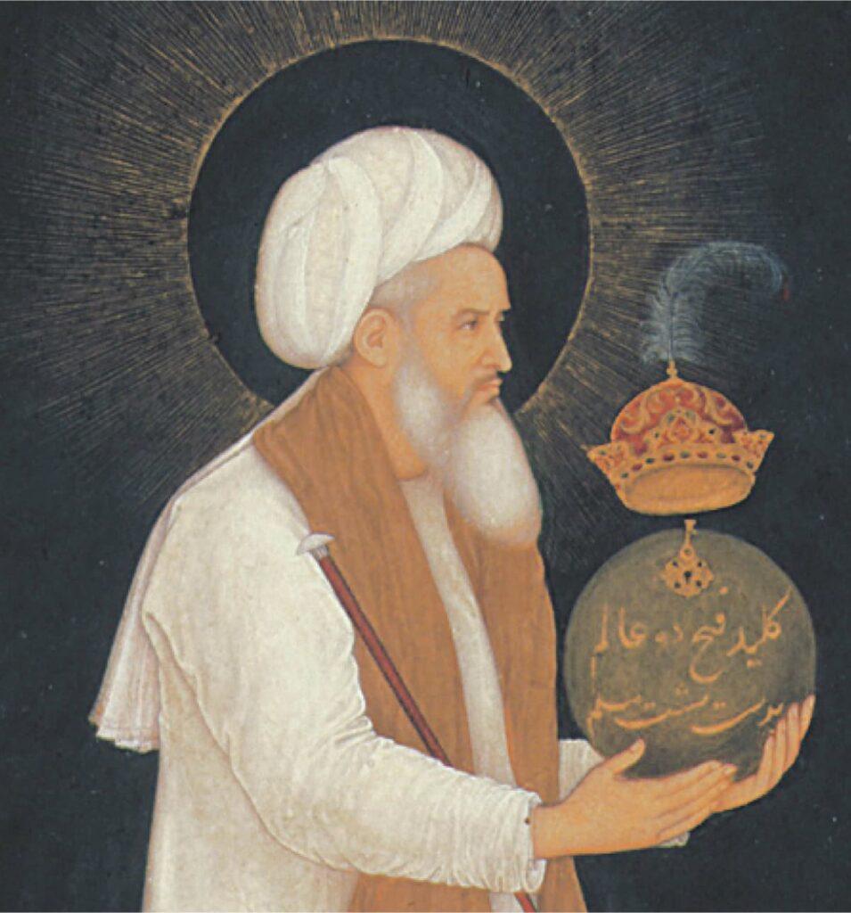 Khwaja Muin-ud-din Chishti the founder of Chishti order of Sufism in India