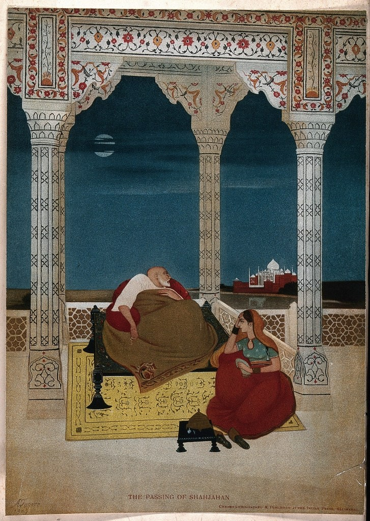 Jahanara taking care of her father at Agra Fort