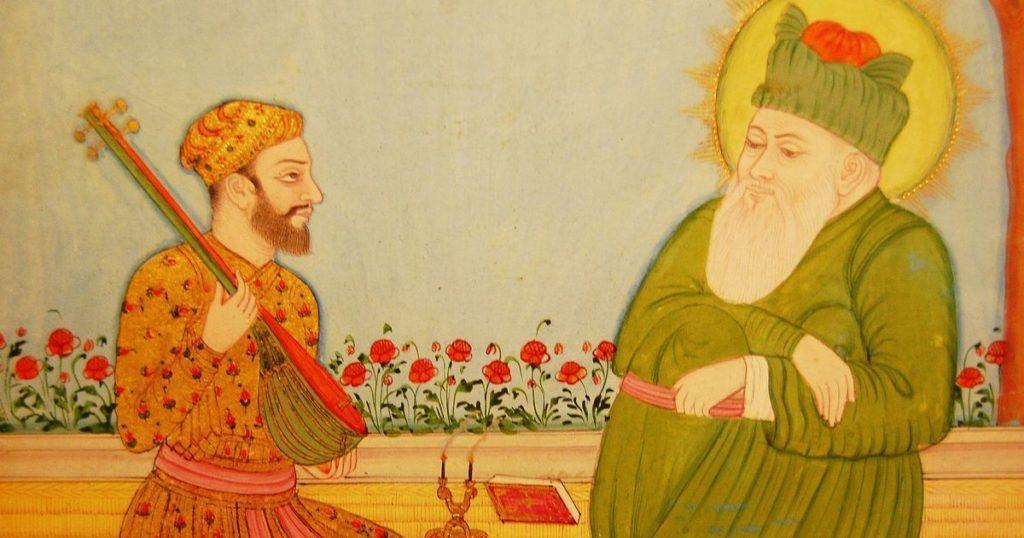 Amir Khusro and Nizam-ud-din Auliya