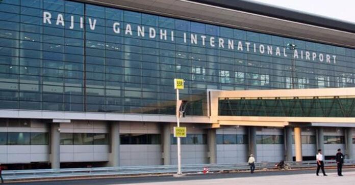 hyderabad airport wins award